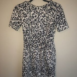 ASOS size small Black and white patterned dress